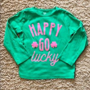 Carter's St. Patrick's Day long sleeve shirt